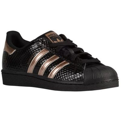zapatillas adidas superstar negras