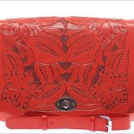 Asos bright red leather satchel bag 1441168676 b96a3726