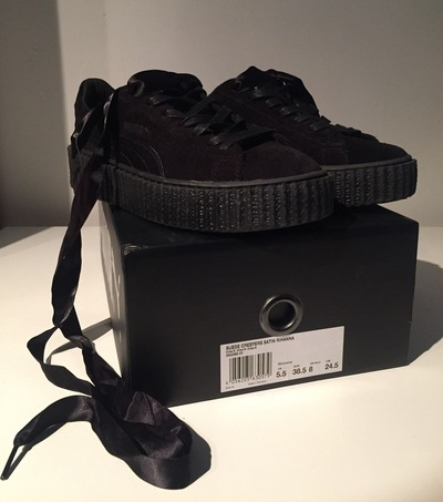 zapatillas puma creeper by rihanna