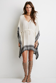 Forever21 poncho dress 4